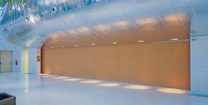 parete manovrabile insonorizzata scorrevole rei 60 - estfeller pareti - Pareti Rei