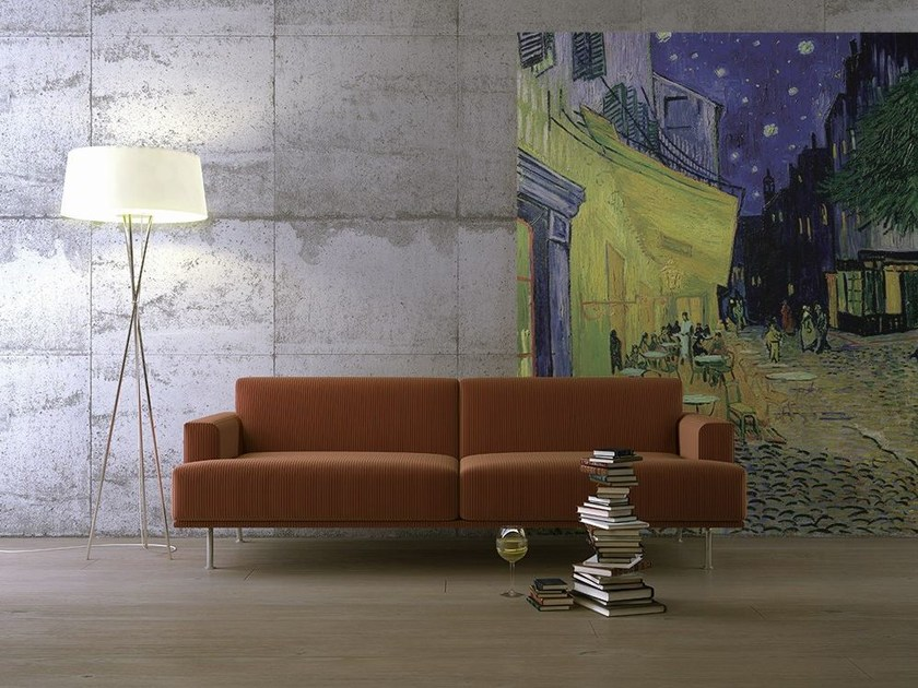 Artistic wallpaper CAFE TERRACE by MyCollection.it
