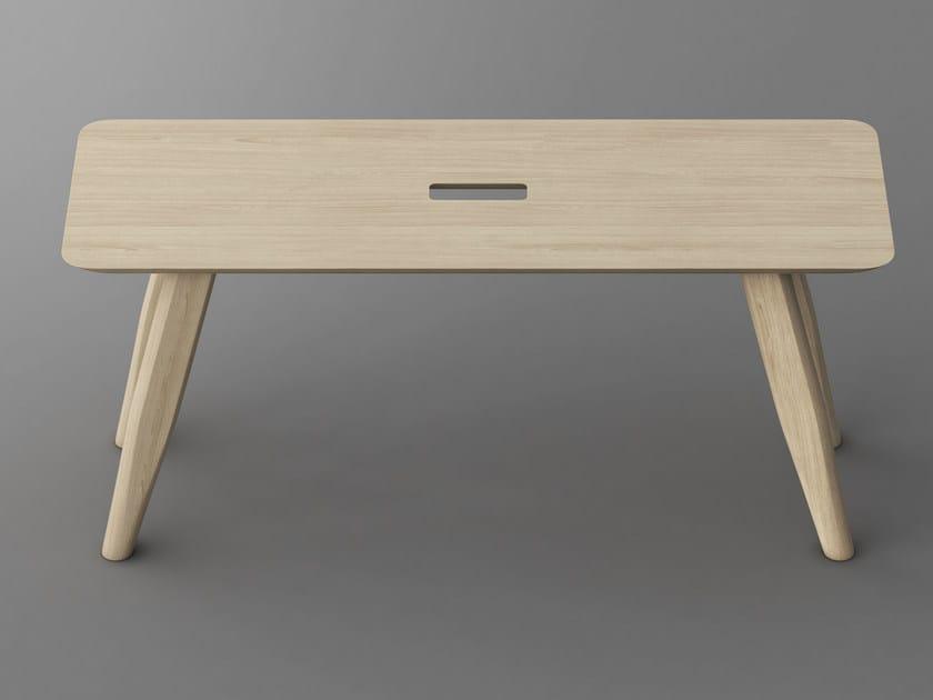 Banc En Bois Design : Banc en bois massif AETAS Banc en bois massif – Vitamin design