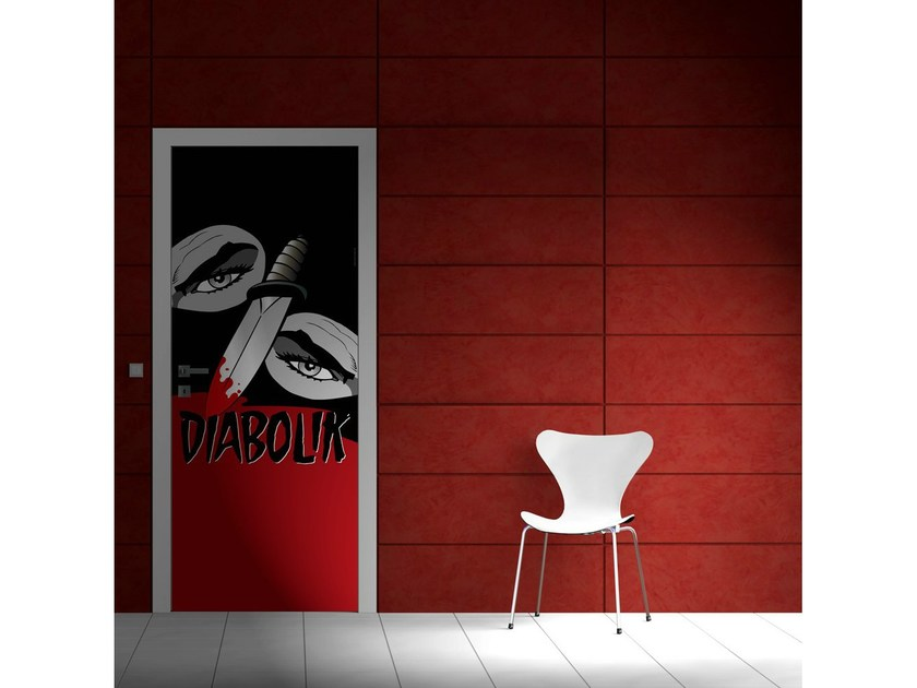Door sticker LA VENDETTA by MyCollection.it