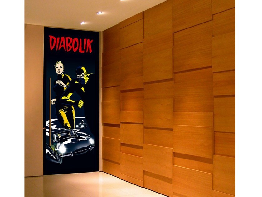 Door sticker UNA FUGA DIABOLIKA - MyCollection.it