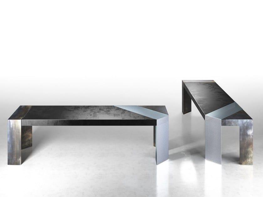 banc en t le de style contemporain collection grid by urbo. Black Bedroom Furniture Sets. Home Design Ideas