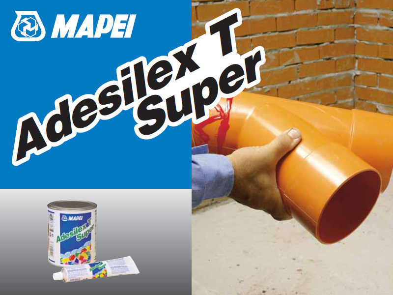 Adhesive and resin for waterproofing ADESILEX T SUPER by MAPEI