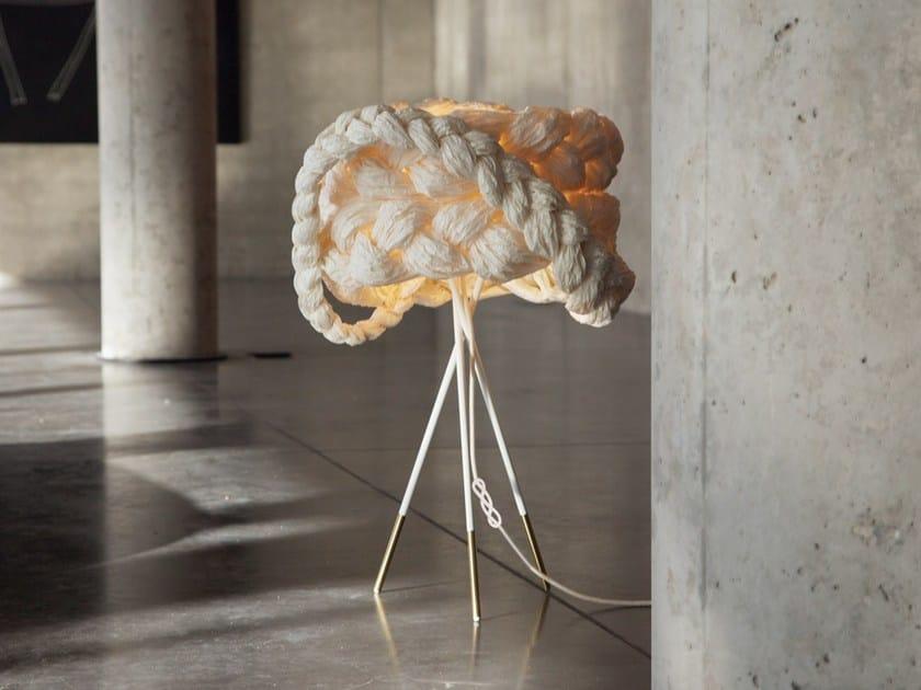 Handmade paper table lamp THE BRIDE | Table lamp - Mammalampa