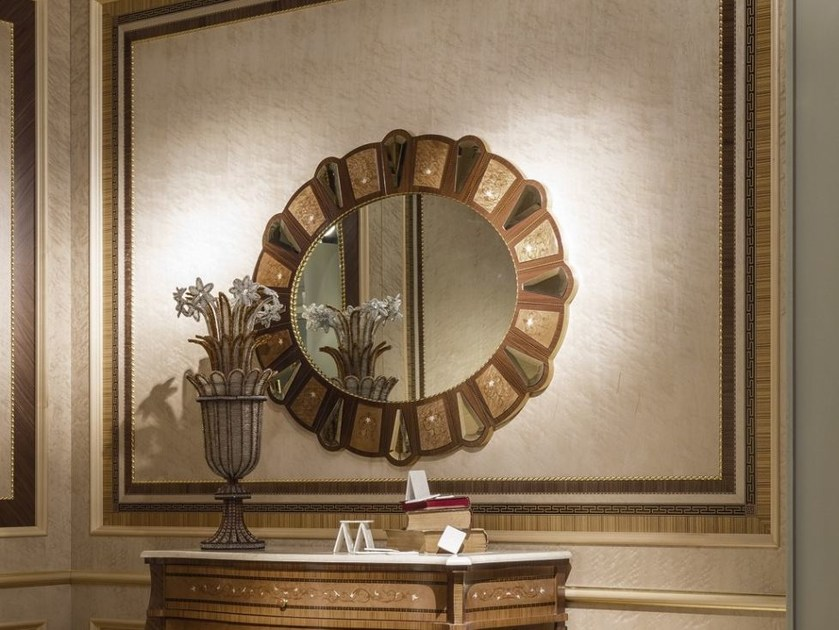 Wall-mounted framed mirror ARTS | Mirror by Carpanelli Classic