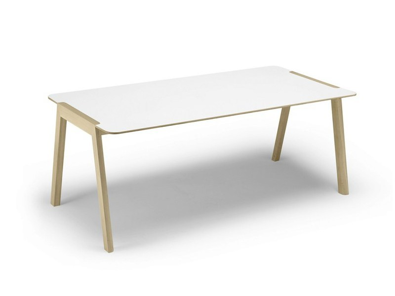 Rectangular laminate table HELDU | Laminate table - ALKI