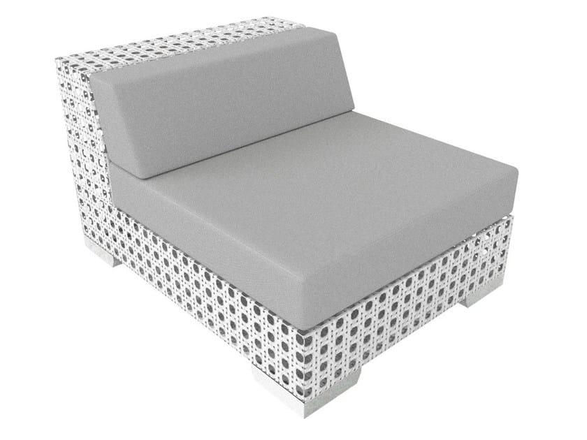 Modular Sunbrella® garden armchair PORTO VECCHIO | Modular garden armchair - Sérénité Luxury Monaco
