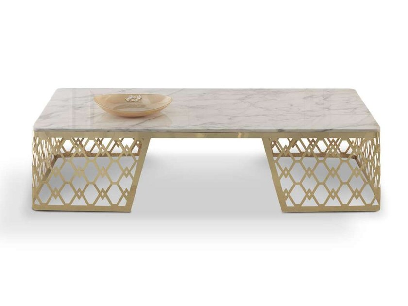 Low rectangular coffee table VOGUE | Low coffee table - Formenti
