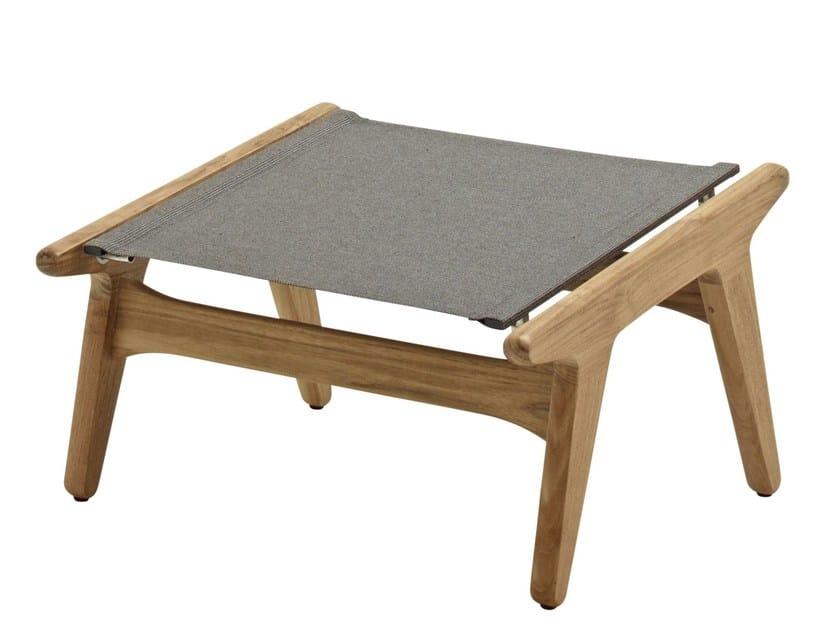 Teak footstool BAY | Footstool - Gloster