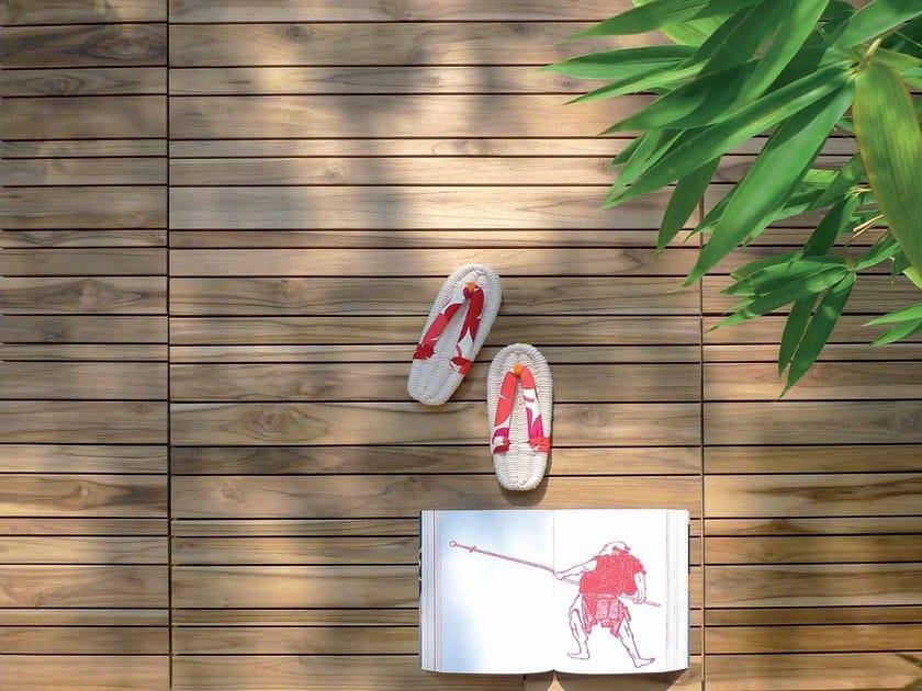 Wooden decking BARCODE by Ravaioli Legnami