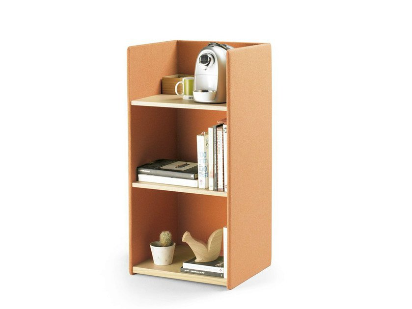 Solid wood office storage unit LANDA | Office storage unit - ALKI