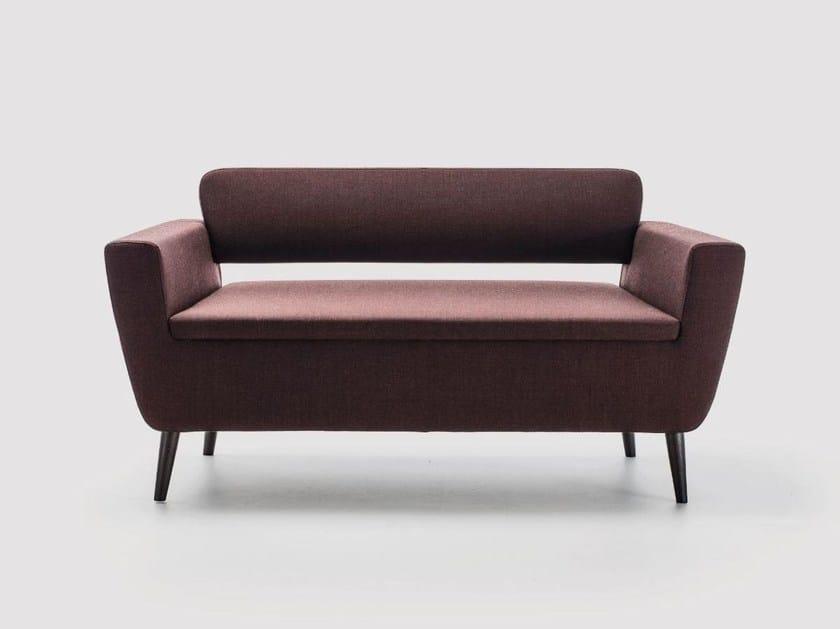 Contemporary style fabric small sofa SERIE_50W | Small sofa - La Cividina