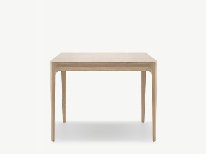 Square wooden table KUSKOA | Square table - ALKI