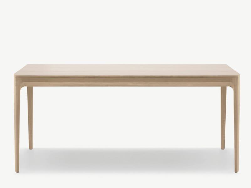Rectangular wooden table KUSKOA | Rectangular table - ALKI