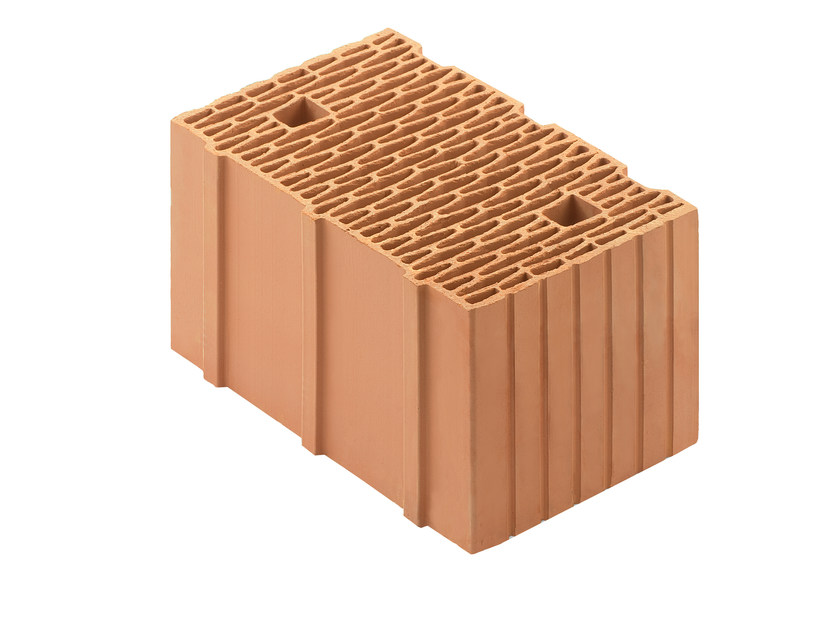 Thermal insulating clay block Porotherm 38-24/19 T - WIENERBERGER