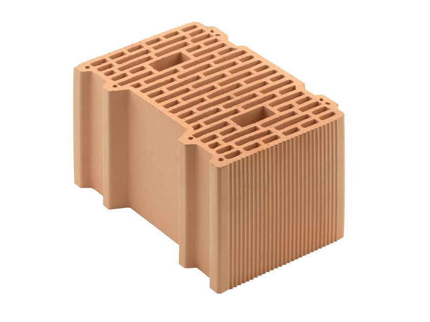 Thermal insulating clay block Porotherm 38-24/19 - WIENERBERGER