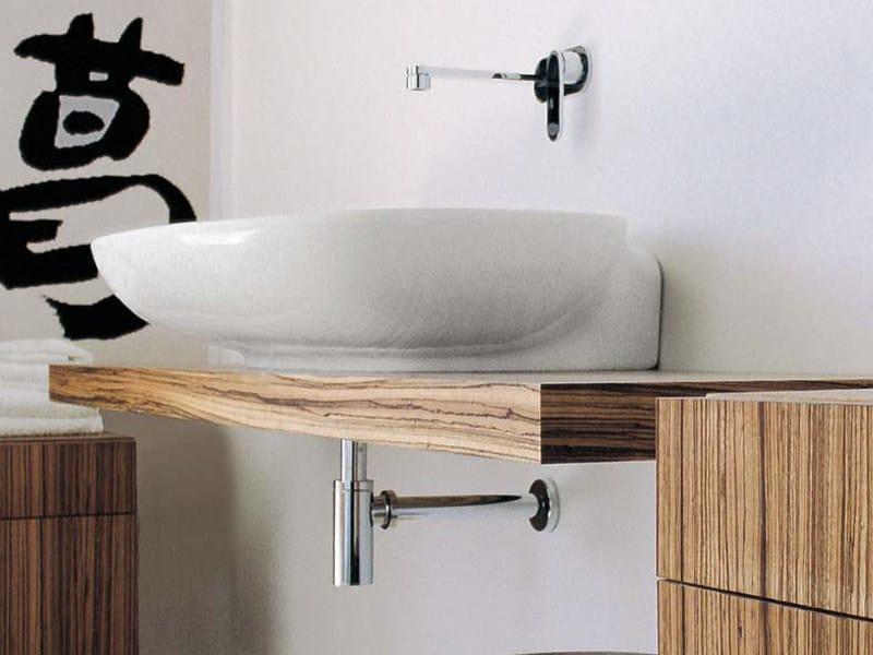 Simple piano lavabo by ceramica flaminia design ludovica roberto ...
