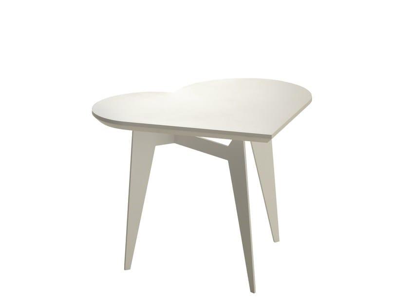 Powder coated steel coffee table FORTUNA - Bolzan Letti