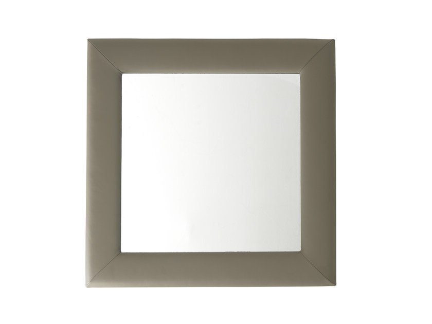 Square wall-mounted mirror ILARY | Square mirror - Bolzan Letti
