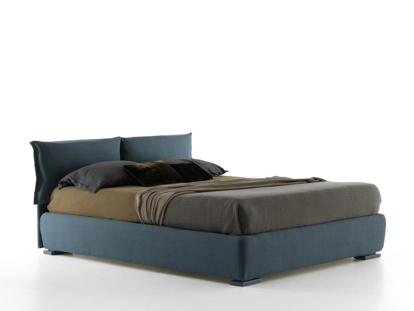 Double bed with removable cover IORCA - Bolzan Letti