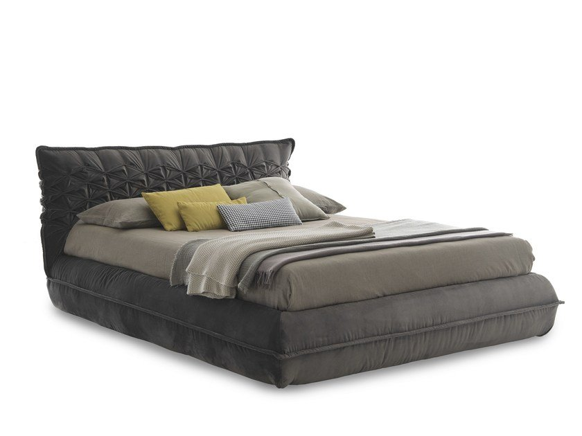 Double bed with removable cover NIDO - Bolzan Letti