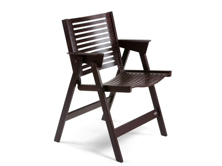 Folding wooden chair REX CHAIR - Rex Kralj
