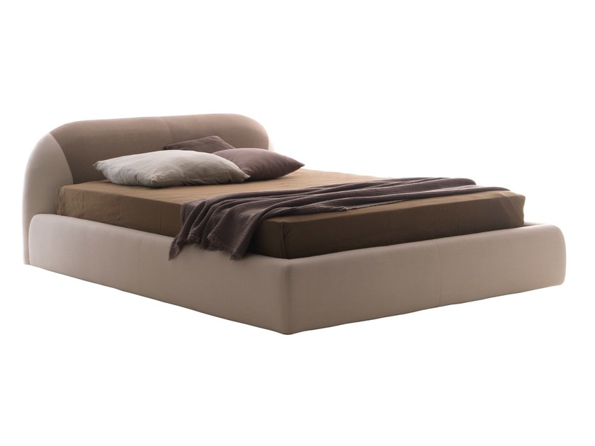 Double bed with removable cover PON PON COLOR - Bolzan Letti