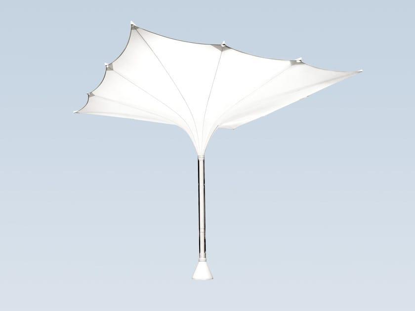 Square aluminium Garden umbrella TYPE E XXL - MDT-tex