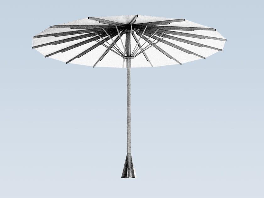 Round aluminium Garden umbrella TYPE T XXL by MDT-tex