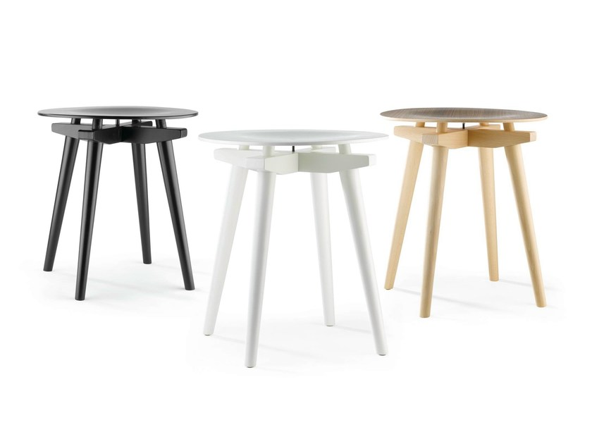 Wooden stool STOOL CC - Rex Kralj