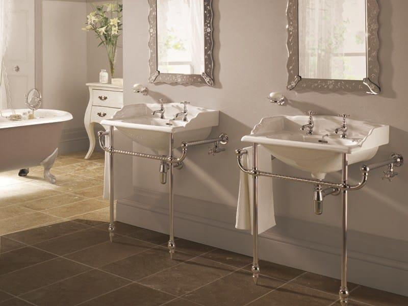 Lavabo a consolle in porcellana vintage lavabo a - Lavabos vintage ...