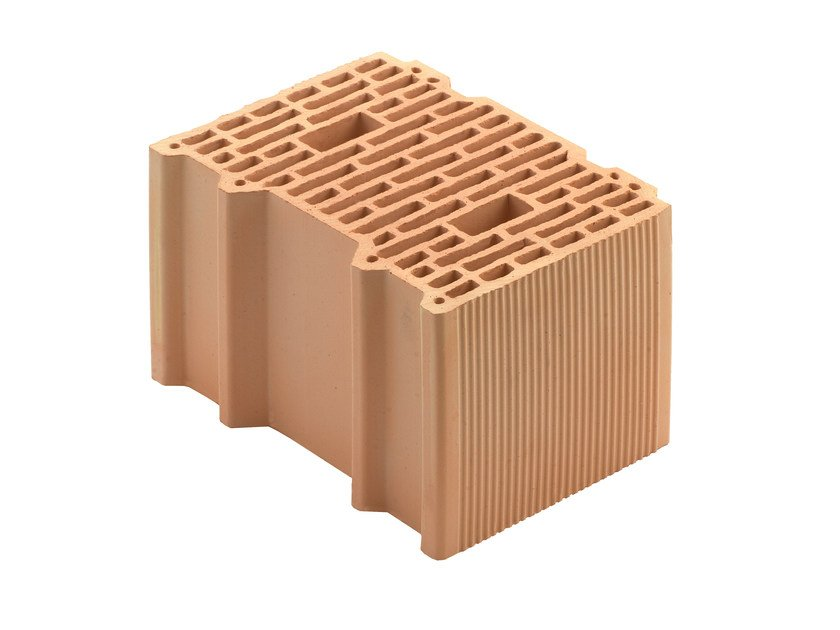 Thermal insulating clay block Porotherm BIO PLAN 35-25/19,9 - WIENERBERGER