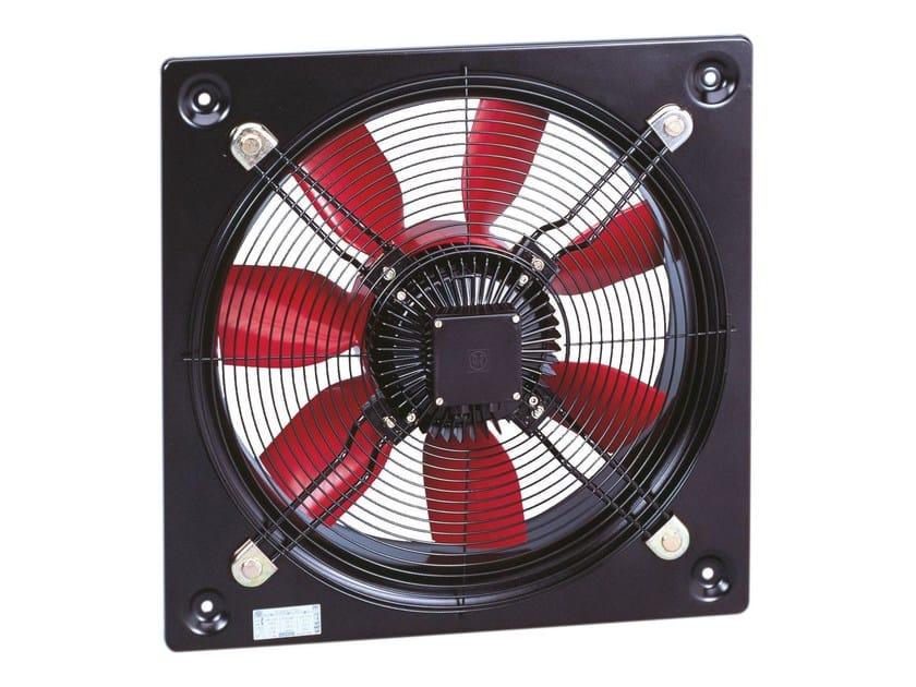 Ventilatore elicoidale da parete compact hcbb hcbt s p - Ventilatore da parete ...