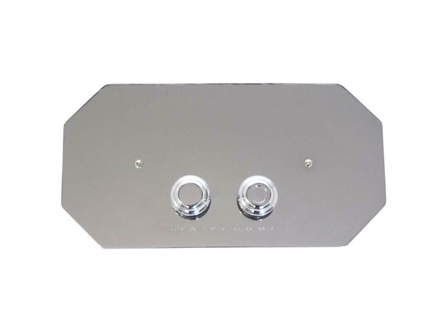 Metal flush plate DAMEA | Flush plate - GENTRY HOME