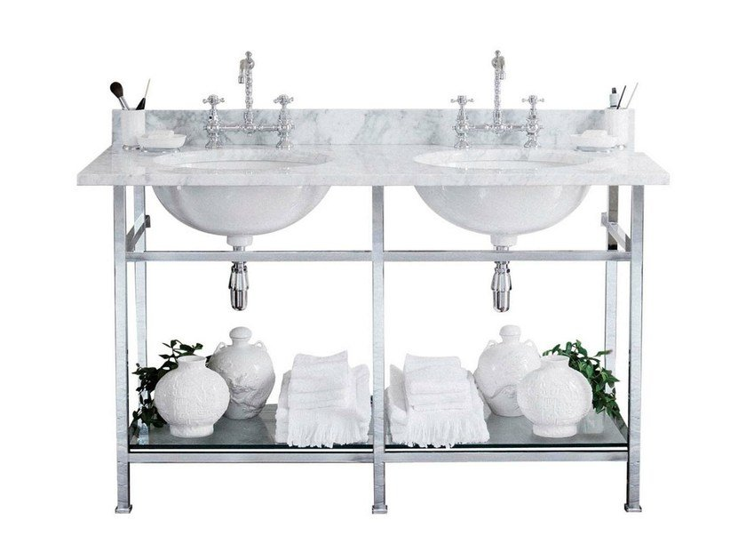 Double console sink CELINE - GENTRY HOME