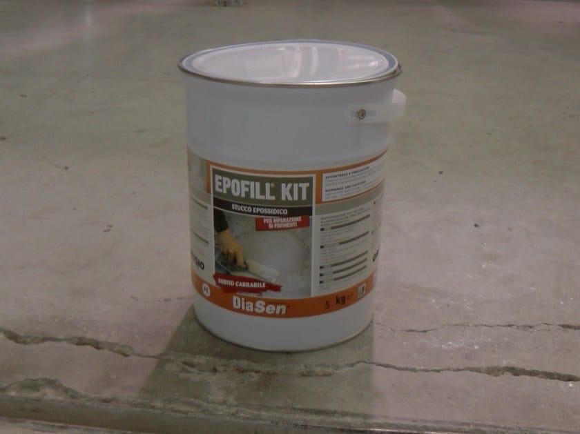 Coulis pour carrelage epofill kit by diasen - Kit reparation carrelage ...