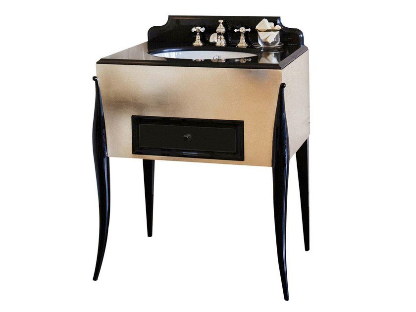 Single wooden vanity unit BENJAMIN by GENTRY HOME