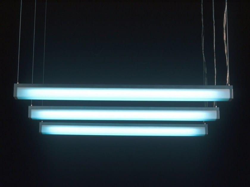 Fluorescent pendant lamp LUMI - Boffi