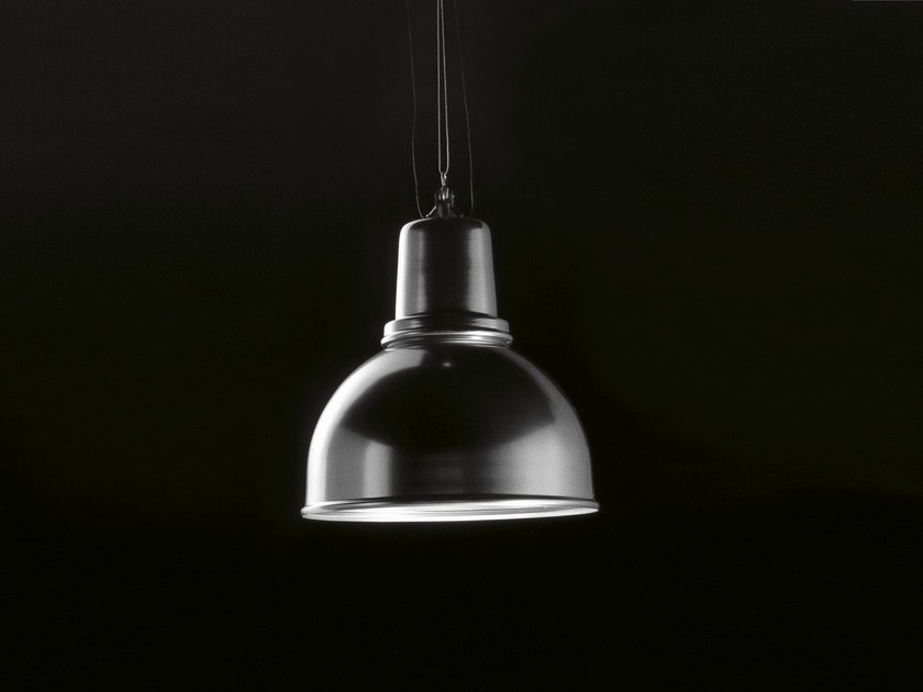 Direct light aluminium pendant lamp NAVIGLIO - Boffi