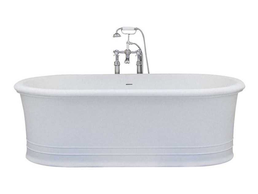 Freestanding oval bathtub MANHATTAN - GENTRY HOME