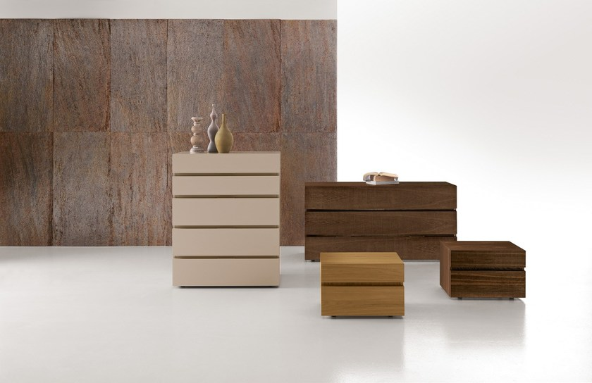 Lacquered wooden dresser CLUB 2 | Dresser - Presotto Industrie Mobili
