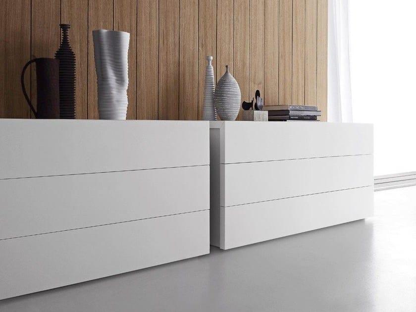 Lacquered wooden dresser ELLE | Dresser - Presotto Industrie Mobili