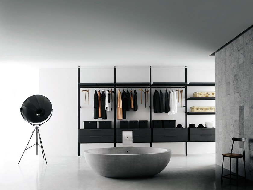 brompton walk in wardrobe by boffi design piero lissoni. Black Bedroom Furniture Sets. Home Design Ideas