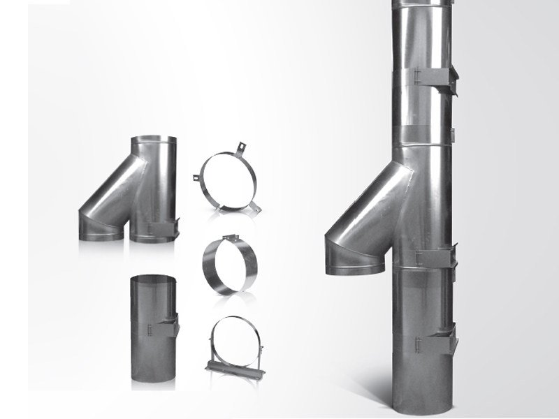 Channel and conduit for air conditioning system Aeration conduit REI 120' - S.A.CO.P