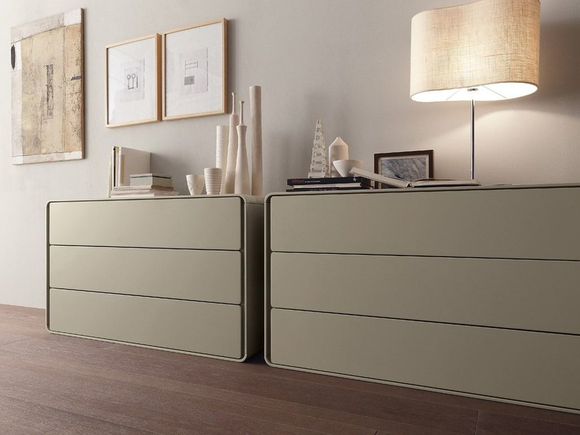 Lacquered wooden dresser ICE | Dresser by Presotto