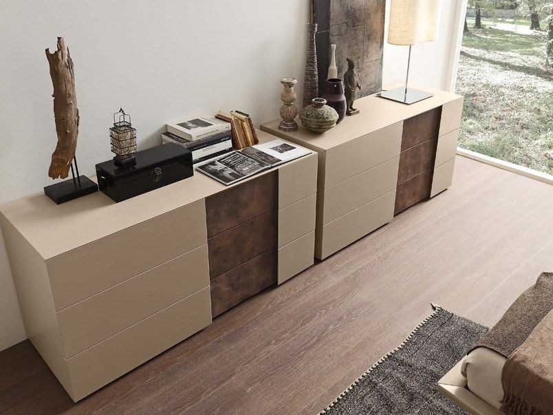 Contemporary style lacquered dresser INSIDE | Dresser - Presotto Industrie Mobili