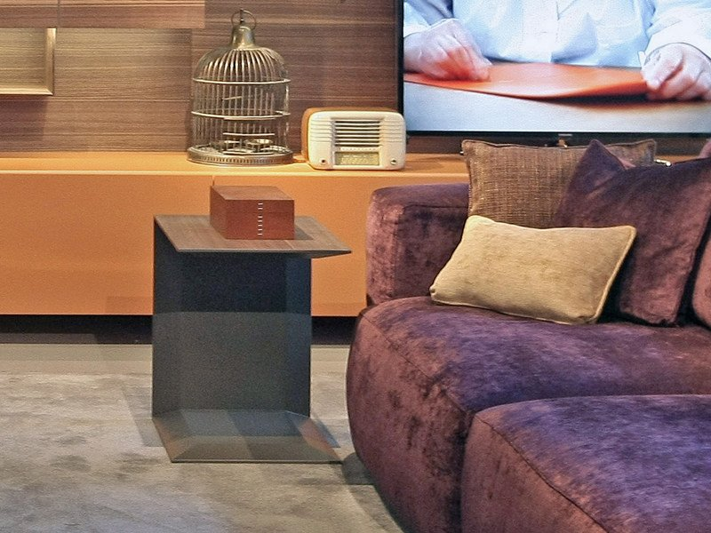 Wooden side table for living room LILLE | Coffee table - ESTEL GROUP