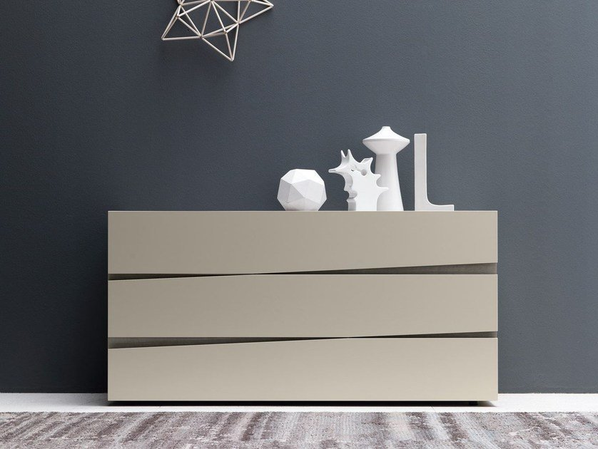 Contemporary style lacquered wooden dresser JAZZ | Dresser - Presotto Industrie Mobili