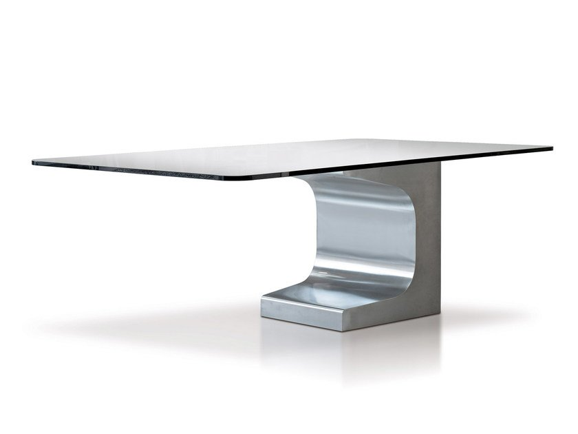 Square metal table NIEMEYER | Square table - ESTEL GROUP