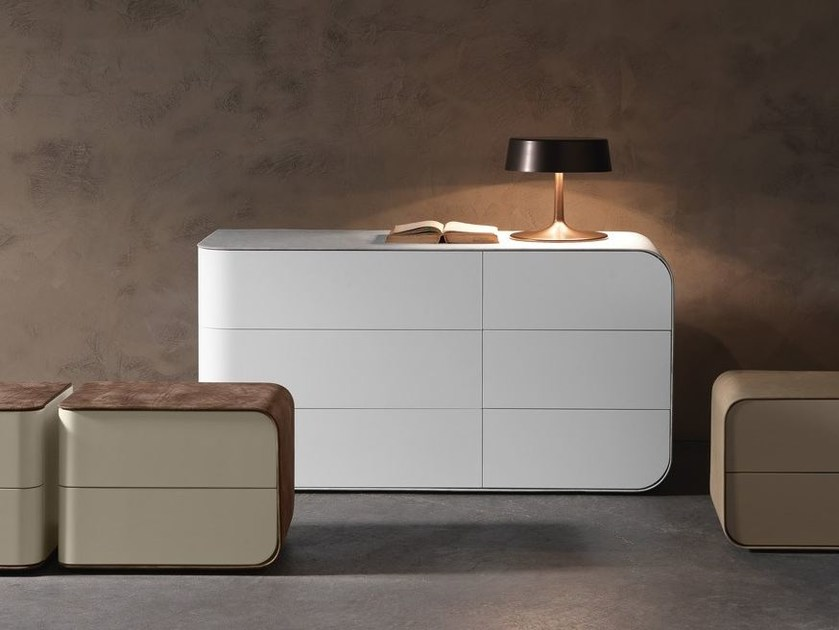 Contemporary style lacquered dresser PASSION | Dresser - Presotto Industrie Mobili